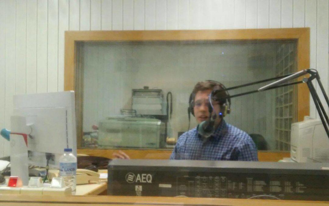Visita a la radio